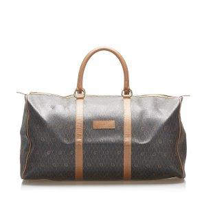 Dior Travel Bag black polyvinyl chloride