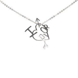 Dior I Love Dior Heart Arrow Pendant Necklace