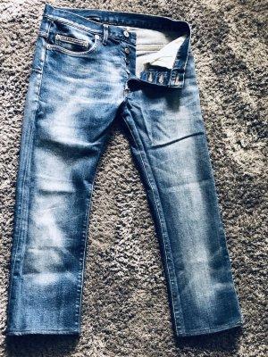 Dior 3/4-jeans staalblauw