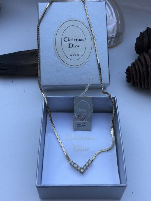 Dior Collier Necklace gold-colored