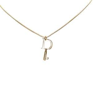 Dior Key Pendant Necklace
