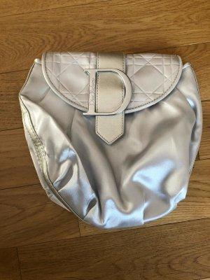 Dior Minitasje lichtgrijs-zilver Gemengd weefsel
