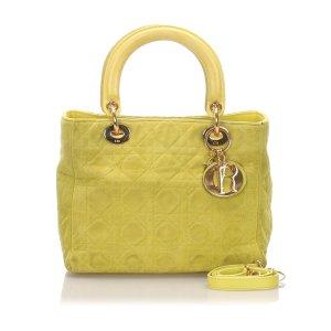 Dior Lady Dior Suede Satchel