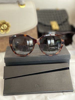 Christian Dior Butterfly Glasses brown