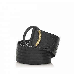 Dior Cintura nero Pelle