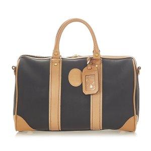 Dior Travel Bag black leather