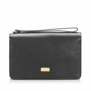 Dior Leather Clutch Bag