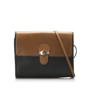 Dior Crossbody bag dark blue leather