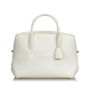 Dior Leather Open Bar Handbag