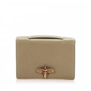 Dior Pouch Bag beige leather