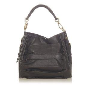 Dior Shoulder Bag black leather