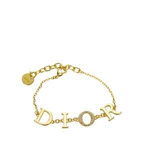 Dior Braccialetto sottile oro Metallo