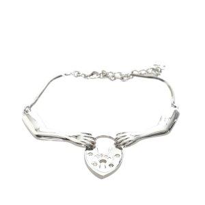 Dior Bransoletka srebrny Metal