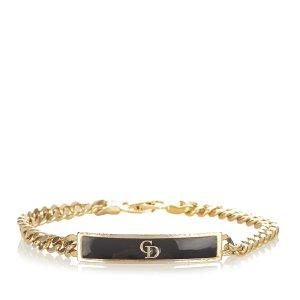 Dior Logo Plate Bracelet