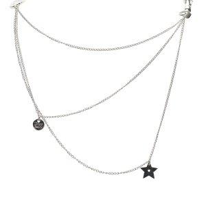 Dior Logo Ribbon Necklace