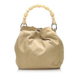 Dior Handbag light brown nylon
