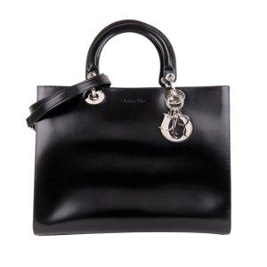 Dior Medium Lady Dior Leather Satchel