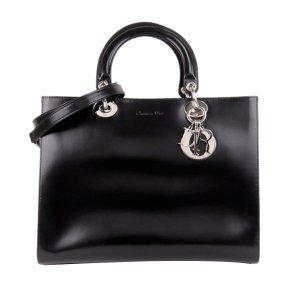 Dior Sacoche noir cuir