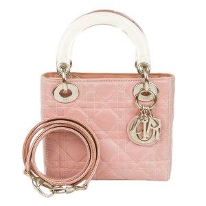 Dior Mini Cannage Lady Dior Nylon Satchel