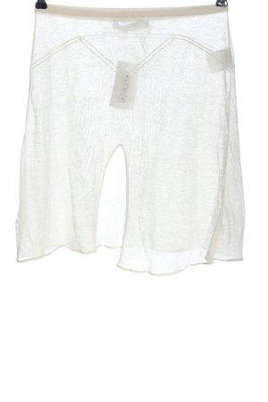 Dior Minifalda blanco estilo sencillo