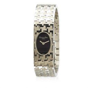 Dior Horloge zilver Edelstaal