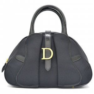 Dior Nylon Mini Bowling Satchel