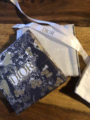 Christian Dior Pendientes colgante color oro