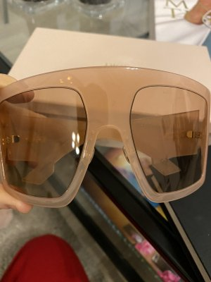 Dior Angular Shaped Sunglasses pink-nude