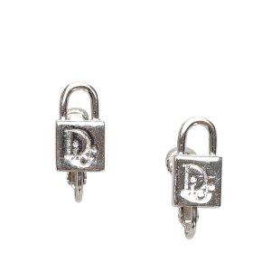 Dior Padlock Earrings