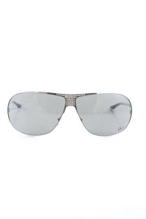 Dior Pilot Brille schwarz Casual-Look
