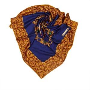Dior Scarf blue silk