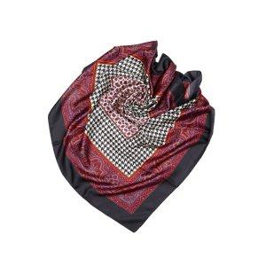 Dior Sjaal zwart Zijde