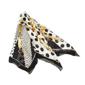 Dior Scarf black silk