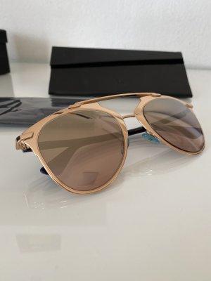 Dior Reflected Sonnenbrille verspiegelt roségold