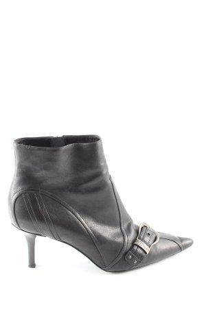 Dior Reißverschluss-Stiefeletten schwarz Business-Look