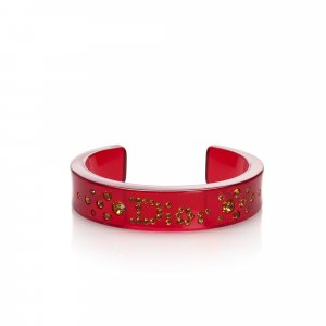 Dior Braccialetto sottile rosso