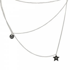 Dior Ribbon Pendant Necklace