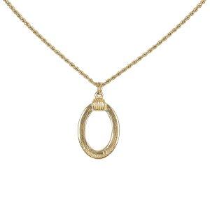 Dior Round Pendant Necklace