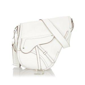 Dior Saddle Leather Crossbody Bag