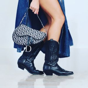 Dior Saddle Leinen