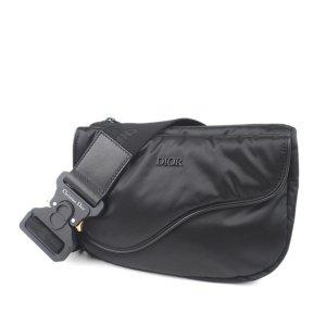 Dior Saddle Nylon Belt Bag