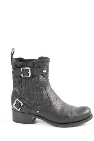 Dior Schlüpf-Stiefeletten schwarz Casual-Look