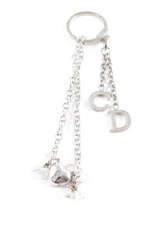 Dior Sleutelhanger zilver zakelijke stijl
