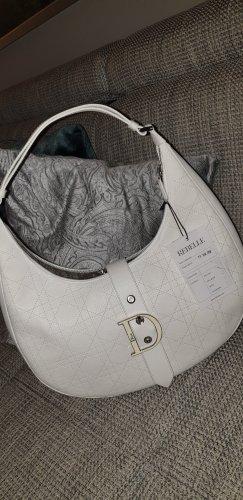 Christian Dior Sac porté épaule blanc cuir