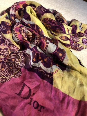 Dior Zijden doek veelkleurig Zijde