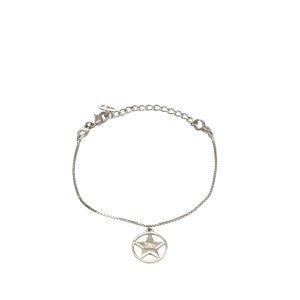 Dior Silver-Tone Charm Bracelet