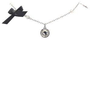 Dior Naszyjnik srebrny Metal