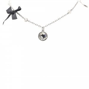 Dior Silver-Tone Charms Necklace