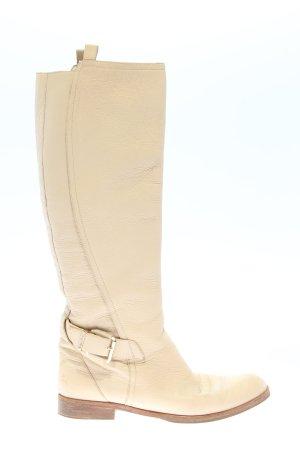 Dior Bottes plissées blanc cassé style d'affaires