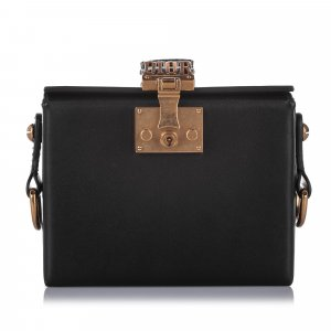 Dior Small Dioraddict Lockbox Satchel